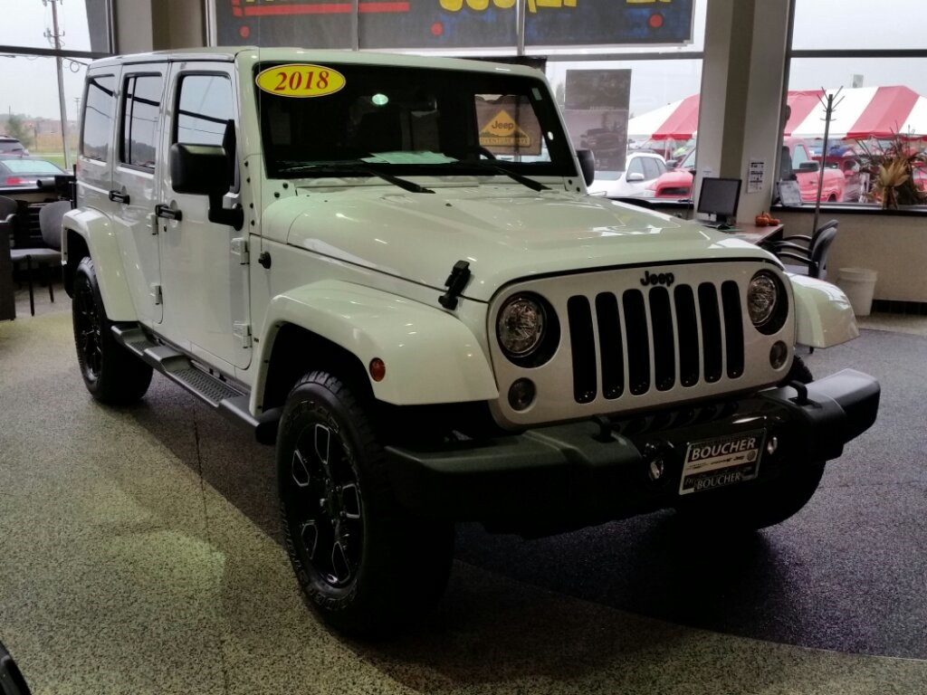 New 2018 JEEP Wrangler Unlimited Unlimited Altitude
