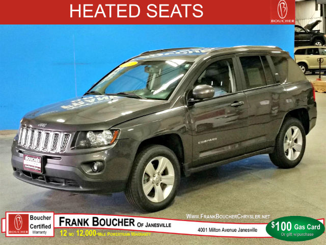 Pre Owned Jeep Compass Latitude Suv In Janesville