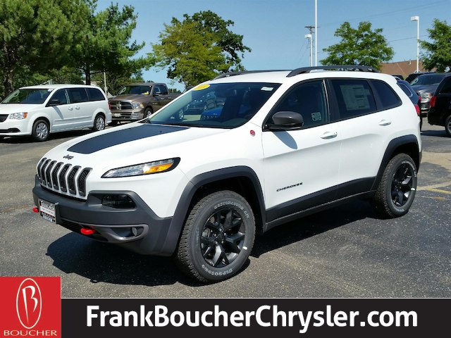 new 2018 jeep cherokee trailhawk sport utility in janesville 18jl028 frank boucher chrysler. Black Bedroom Furniture Sets. Home Design Ideas