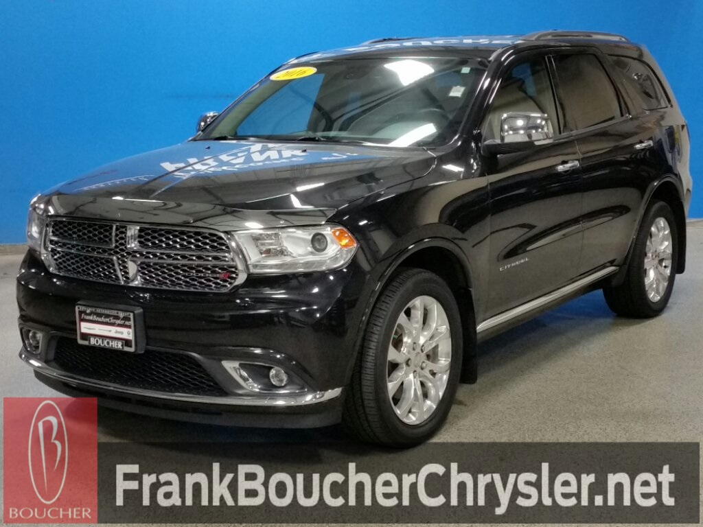 Certified Pre Owned 2016 Dodge Durango Citadel