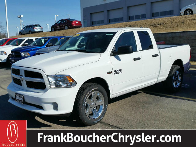 new 2017 ram 1500 tradesman express quad cab in janesville 17rl363 frank boucher chrysler. Black Bedroom Furniture Sets. Home Design Ideas