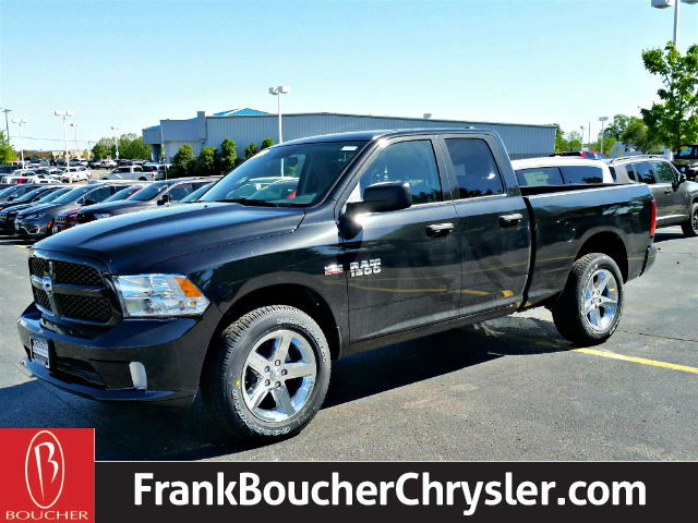 new 2017 ram 1500 tradesman express quad cab in janesville 17rl225 frank boucher chrysler. Black Bedroom Furniture Sets. Home Design Ideas