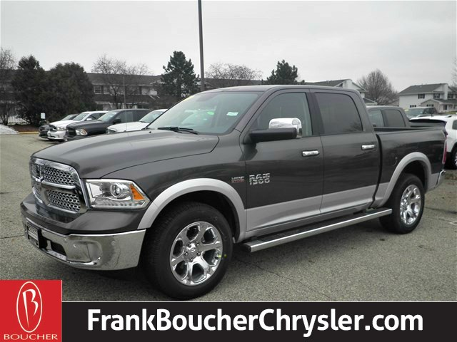 new 2017 ram 1500 laramie crew cab in janesville 17rl127 frank boucher chrysler dodge jeep. Black Bedroom Furniture Sets. Home Design Ideas
