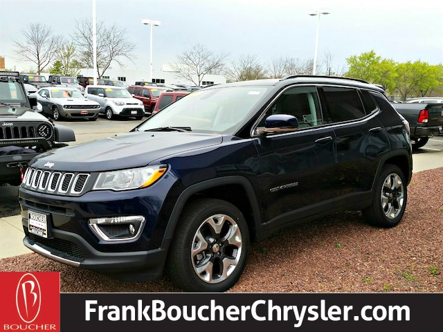 new 2017 jeep new compass limited sport utility in janesville 17jl411 frank boucher chrysler. Black Bedroom Furniture Sets. Home Design Ideas
